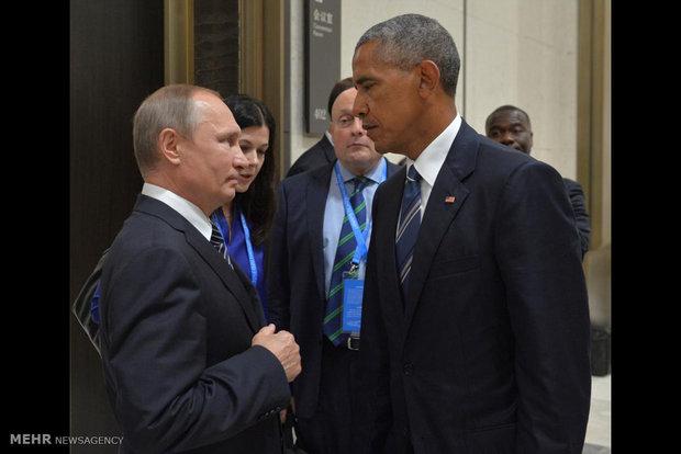 اوباما و پوتین