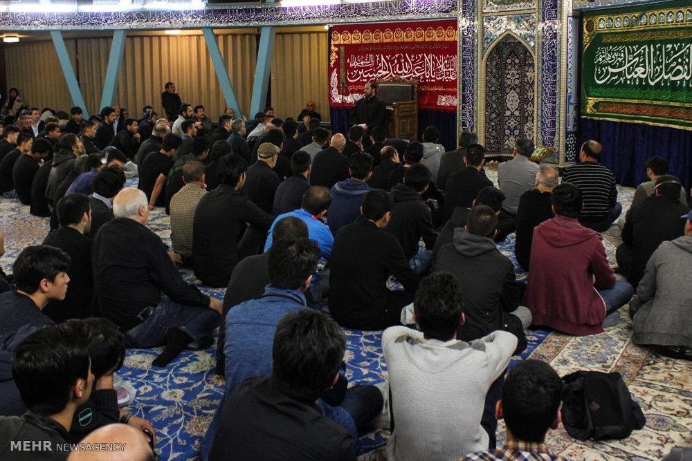 مراسم عزداری محرم ۲۰۱۶ در مرکز اسلامی هامبورگ آلمان