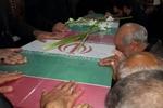 آیین استقبال از پیکر شهید دفاع مقدس در سمنان برگزار شد