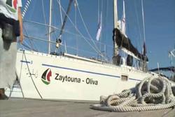 البحرية الصهيونية تحتجز سفينة زيتونة في ميناء أشدود