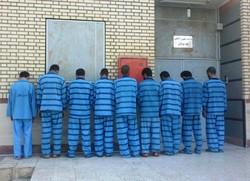 باند سرقت دستگیری سارقان نیروی انتظامی خوزستان