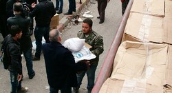 Russian military jet airlifts 40 tons of Armenian relief aid to Syria