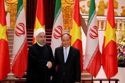 روحانی و نخست وزیر ویتنام