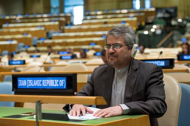 خوشرو: ايران مستعدة لدعم قوات الأمم المتحدة لحفظ السلام
