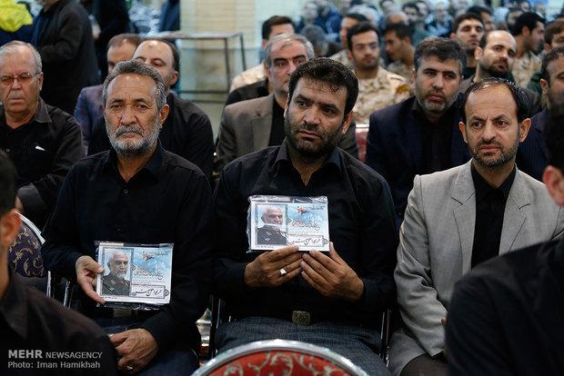 الذكرى السنوية الأولى لاستشهاد العميد حسين همداني في همدان
