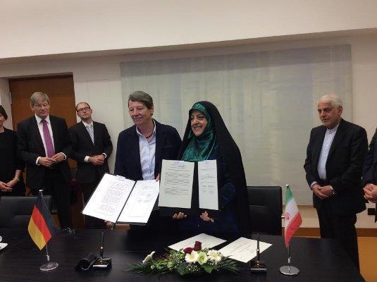 همکاری های زیست محیطی ایران و آلمان شتاب می گیرد