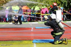 یازدهمین المپیاد عملیاتی ورزشی آتشنشانان و امدادگران کشور