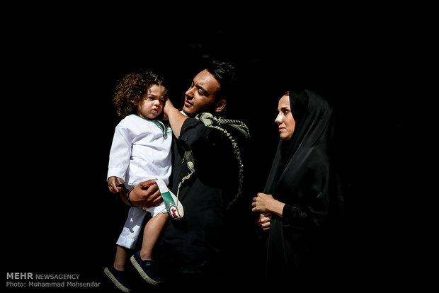 مهرجان الطفل الرضيع للولاء الحسيني في طهران