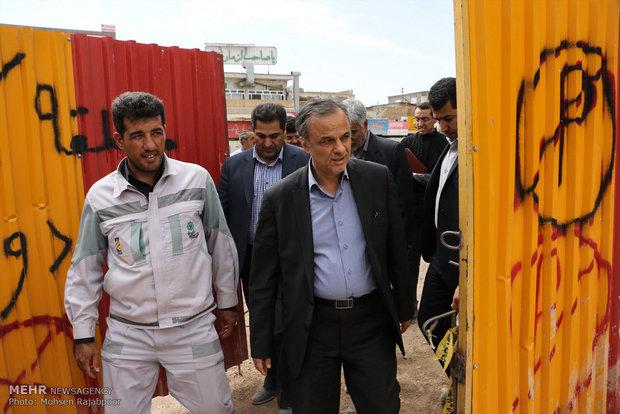 مسیر خیابان اقبال به میدان آزادی تا ۲۲ بهمن بازگشایی می شود