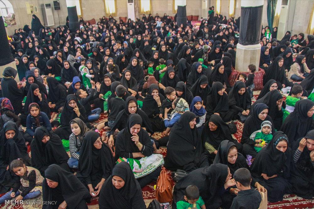 همایش شیرخوارگان حسینی در شهرستانها -۱