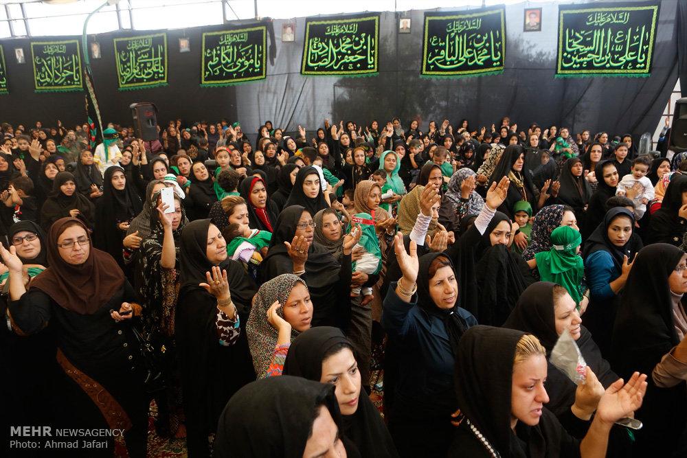 همایش شیرخوارگان حسینی در استانها - ۱