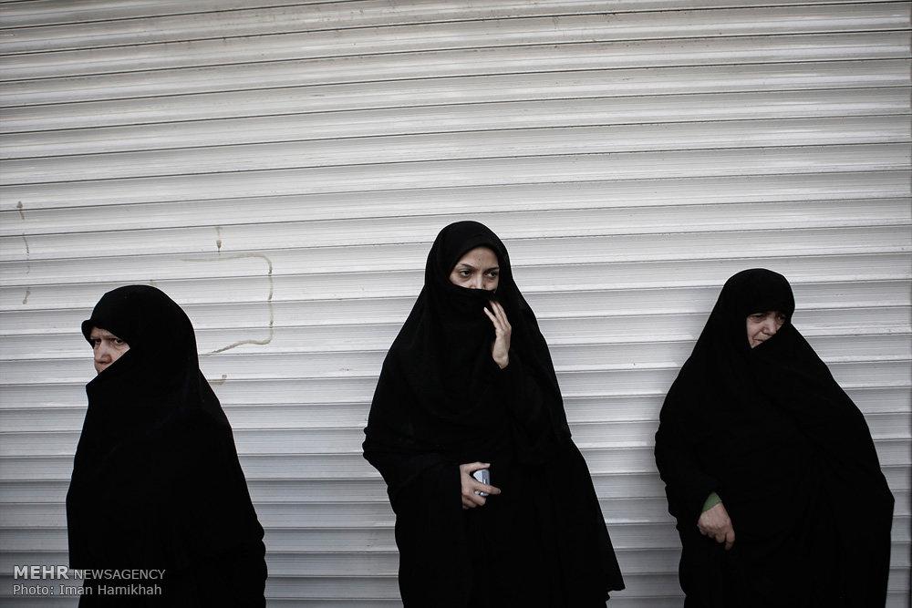 تشییع پیکر شهید جمشید طهماسبی در همدان