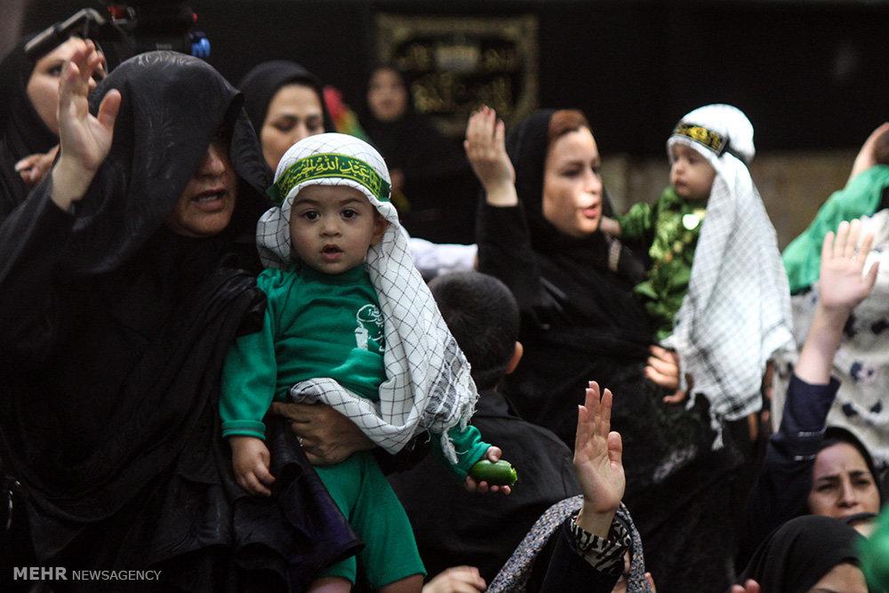 همایش شیرخوارگان حسینی در شهرضا و هشت بندی
