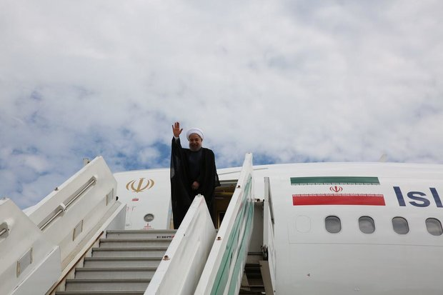 Rouhani flies to Thailand as last leg of Southeast Asia tour