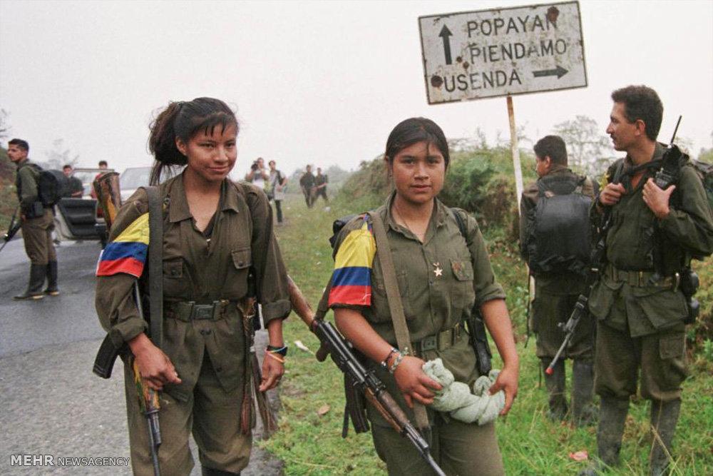 مبارزه کلمبیا با گروه فارک