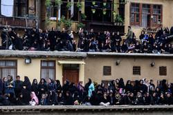 İran'daki matem merasimlerinden kareler