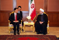 Rouhani calls for more active Chinese role in ME