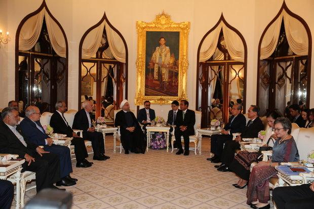 Tehran, Bangkok welcome stronger ties