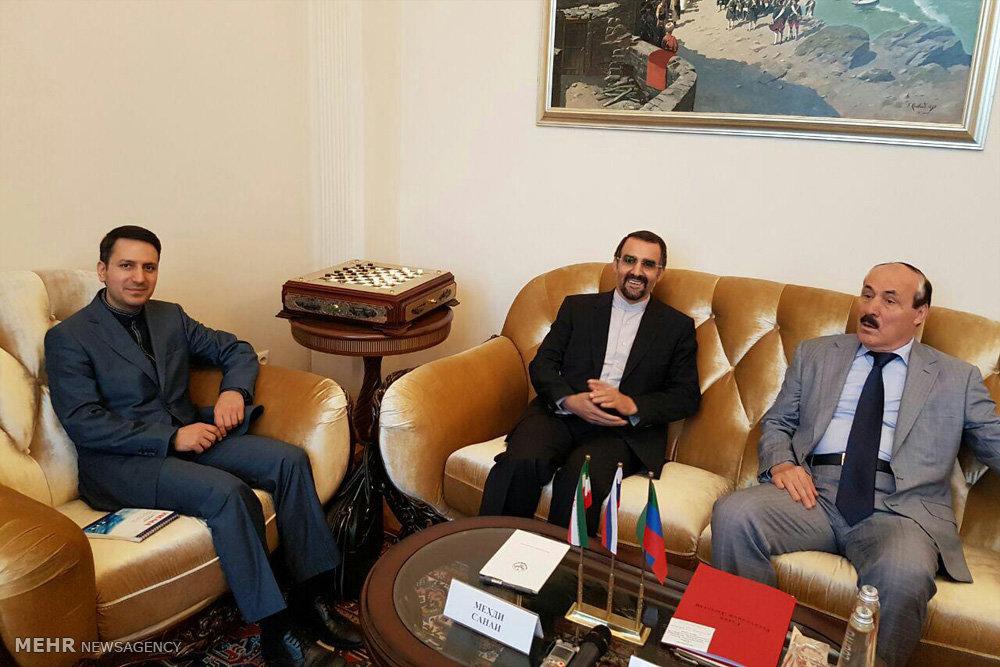 سفر سفیر ایران در روسیه به جمهوری داغستان