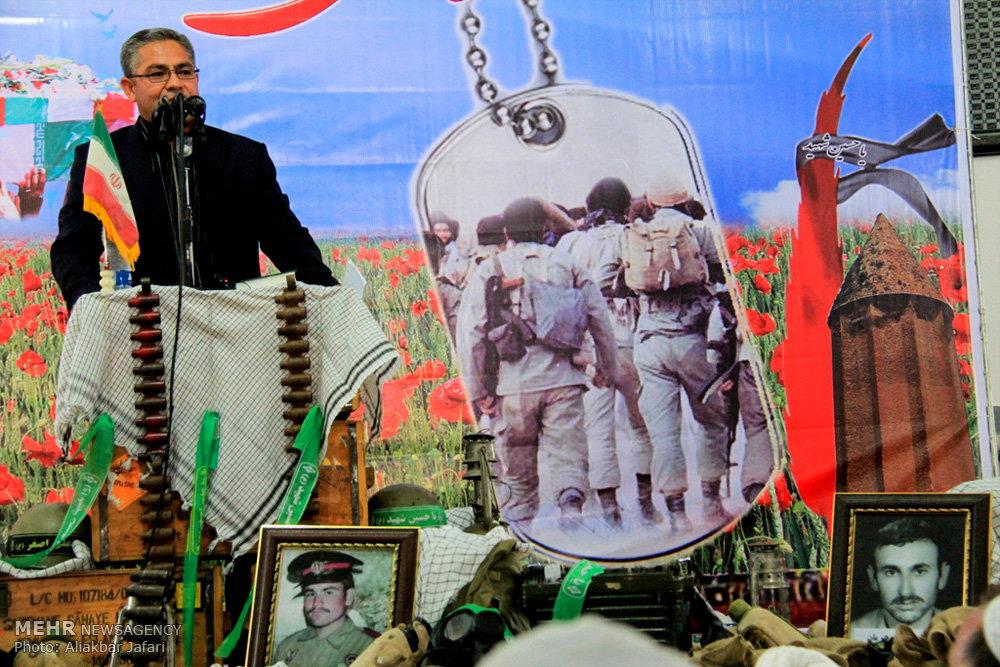 نخستین یادواره شهدای مرزنشین کشور در گلستان