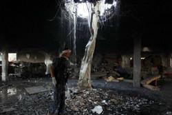 تظاهرات گسترده مردم یمن در محکومیت تداوم حملات عربستان