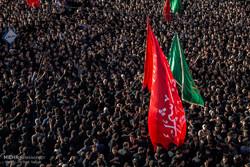 Muharram mourning at Zanjan Grand Husseiniyeh