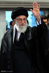 إقامة الليلة الثالثة للعزاء الحسيني بحضور قائد الثورة الاسلامية