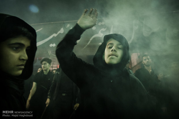 """مراسم العزاء الحسيني """"شاه حسين"""" في تبريز"""