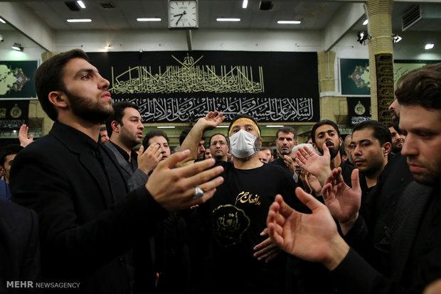 اقامة الليلة الثانية من مراسم العزاء الحسيني بحضور قائد الثورة الاسلامية
