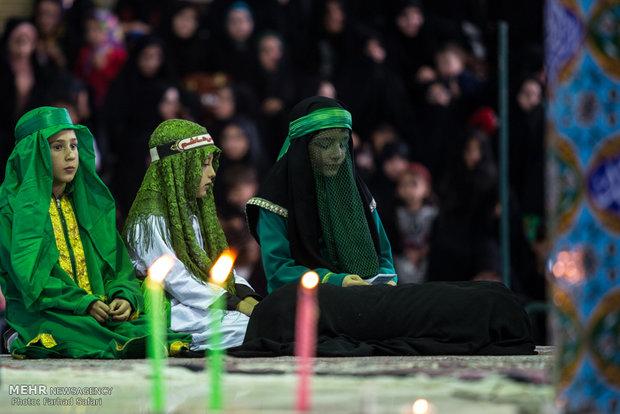 Ta'zieh Khani in Zanjan