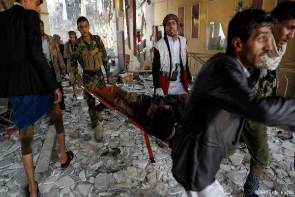 سقوط 12 شهيدا بغارتين لطيران العدوان السعودي على صعدة