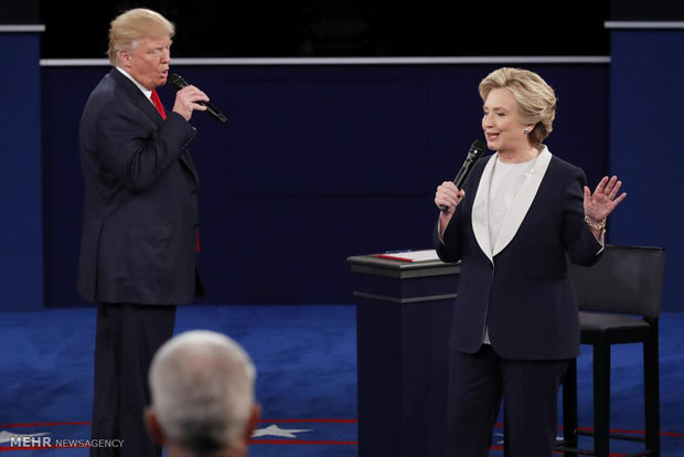 ہیلری اور ٹرمپ کے درمیان آخری مباحثہ آج ہوگا