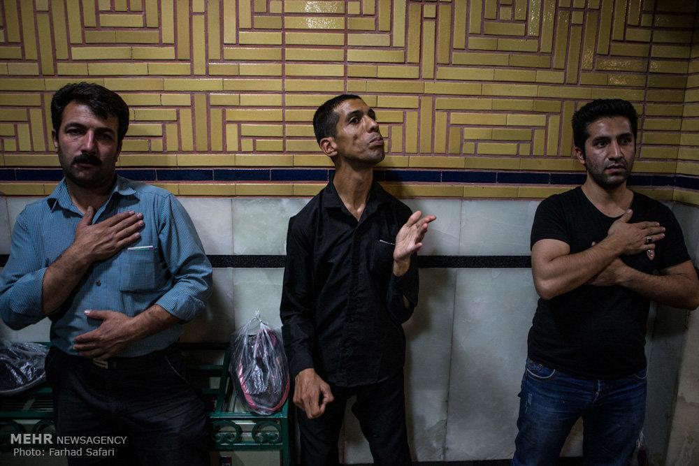 عزاداری شب های محرم در حسینیه اعظم زنجان