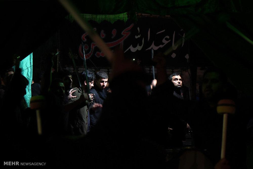 مراسم عزاداری هیئت آذربایجانیهای مقیم مشهد