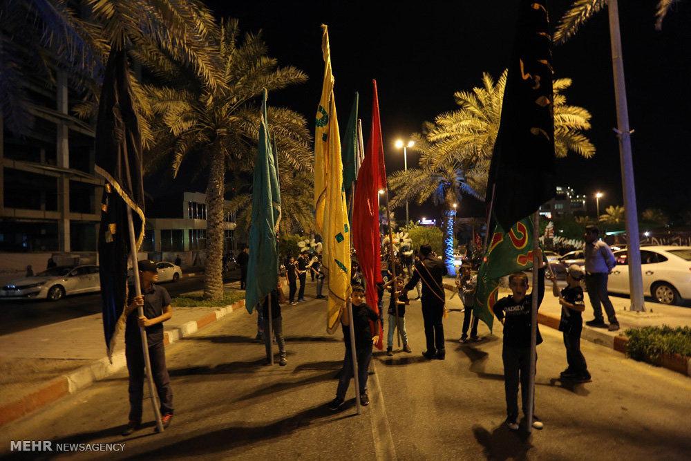 مراسم سوگواری سالار شهیدان در جزیره کیش
