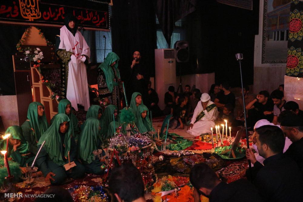 مراسم عزاداری کربلایی های مقیم جزیره کیش