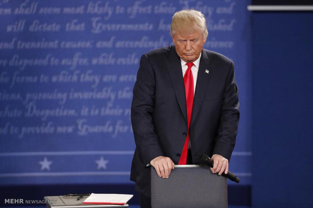 دومین مناظره ترامپ و کلینتون