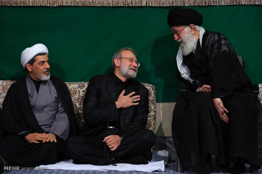 سومین شب عزاداری ایام محرم ۱۴۳۸ در حسینیه امام خمینی (ره)