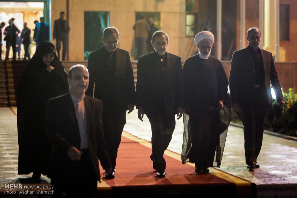 بازگشت رئیس جمهور از جنوب شرق آسیا