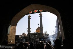 پیکر «ام الاسرا» در ری تشییع و تدفین شد