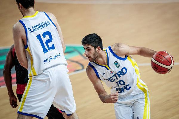 بتروشيمي الايراني يصل نهائي اندية آسيا لكرة السلة