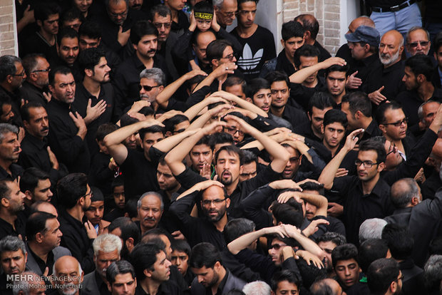 Tasu'a mourning in Birjand