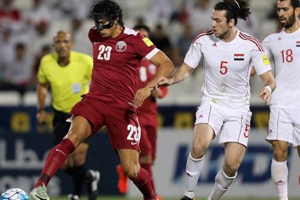 دیدار تیم ملی فوتبال قطر و چین