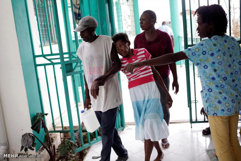 احتمال شیوع وبا در هائیتی
