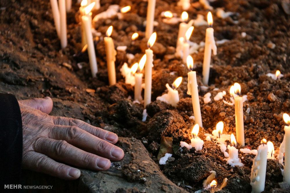 نذر استکان و شمع