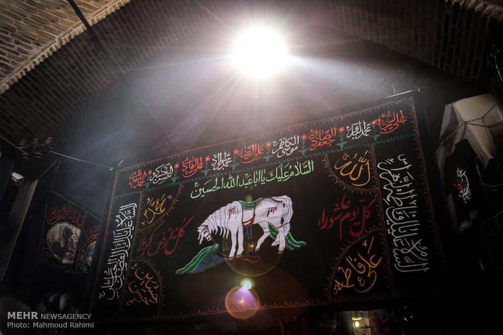 عزاداری تاسوعای حسینی در حرم عبدالعظیم حسنی (ع)