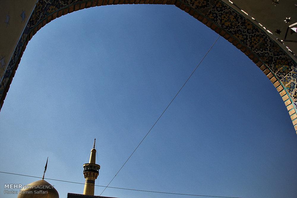 عزاداری تاسوعای حسینی در حرم امام رضا (ع)