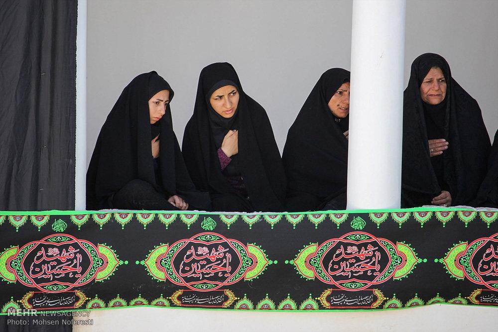مراسم عزاداری سید و سالار شهیدان در حسینه امام رضا(ع) بیرجند