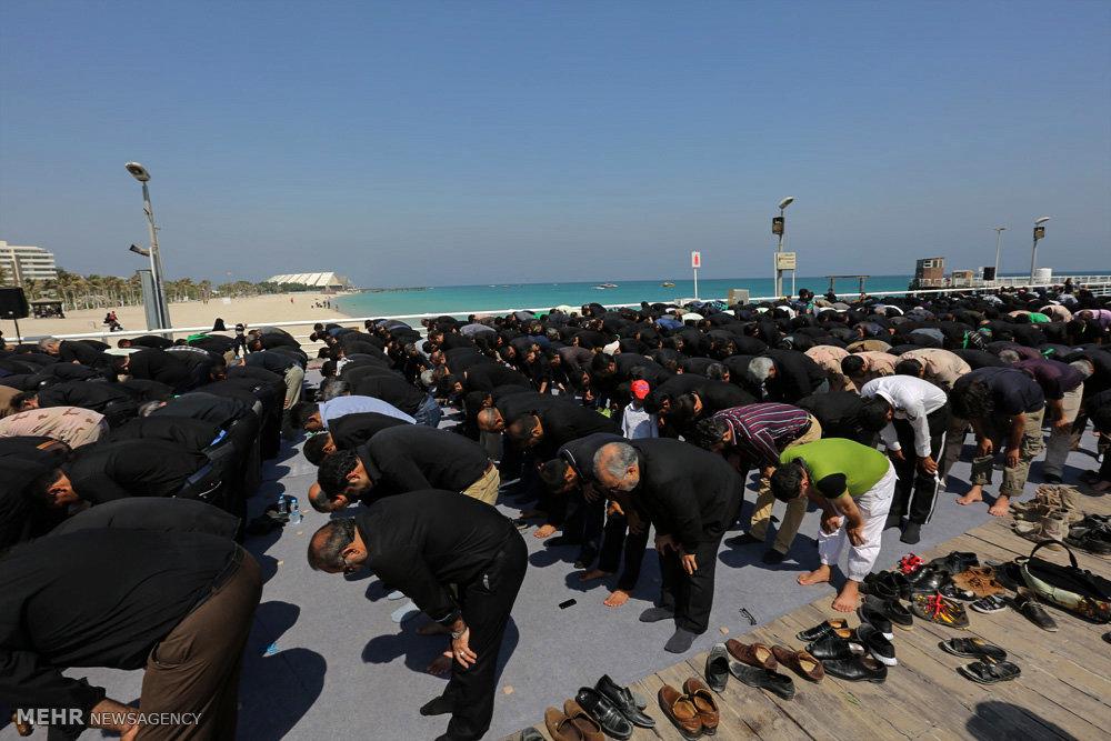 مراسم عزاداری ظهر تاسوعا در جزیره کیش