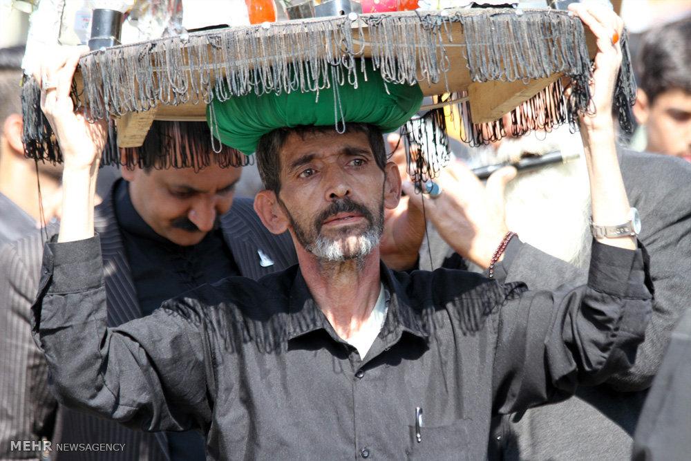 عزاداری تاسوعای حسینی در سیرجان